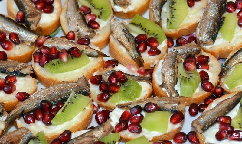 бутерброды на новый год рецепты