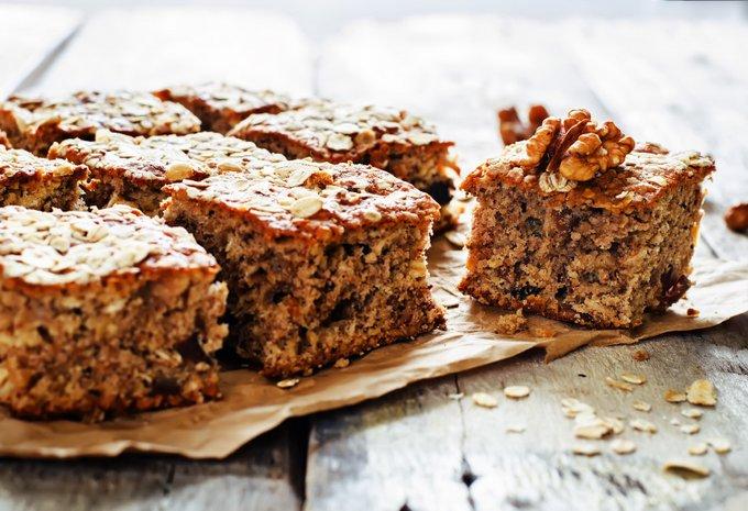 Мини-торт из орехов