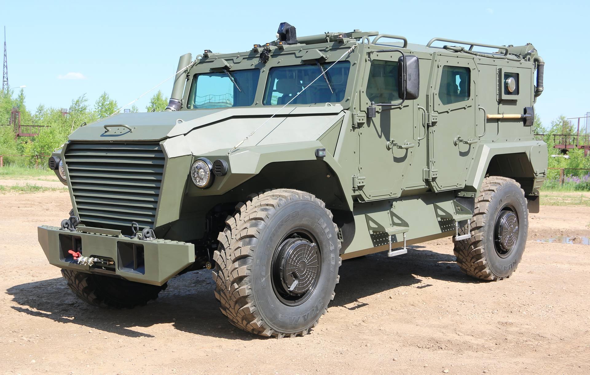 «Атлет»: Новейшие бронеавтомобили испытают 5 августа