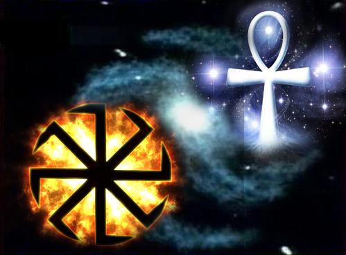 Крест, анкх, свастика. Крест как символ солнца