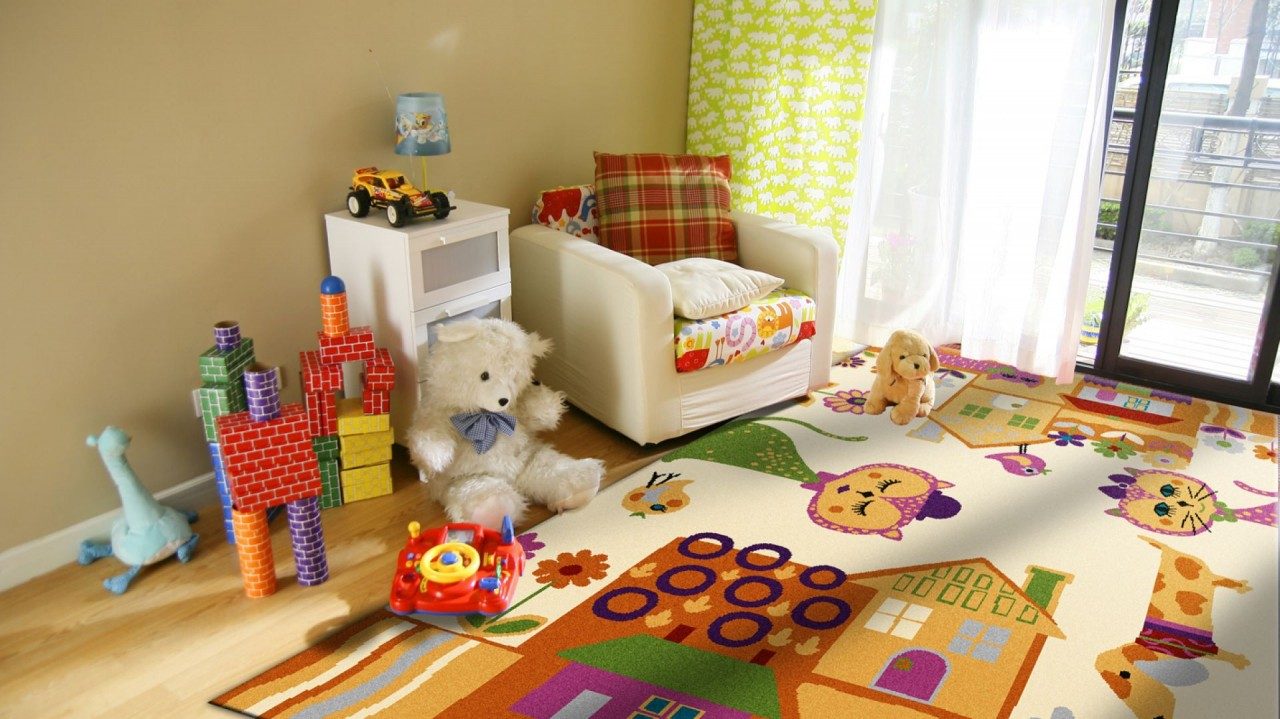 Ковер для детской комнаты — как выбрать лучший