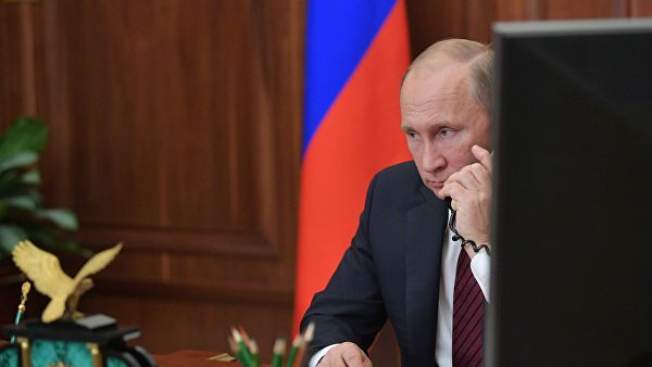 Путин назвал причину митингов в Москве