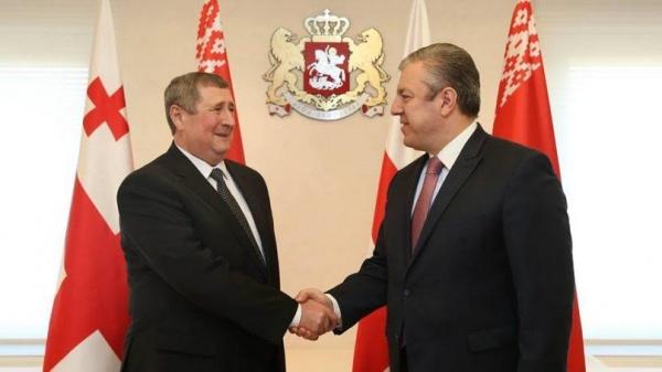 Квирикашвили: Развитие отношений сБелоруссией— приоритет для Грузии
