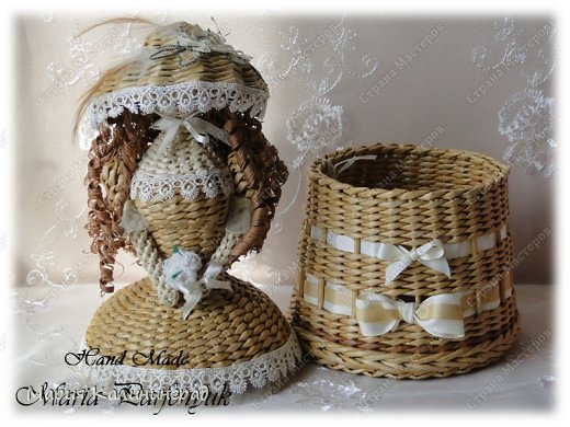 Очень красивые плетенки из газет от Марии Калининград (6) (520x390, 183Kb)