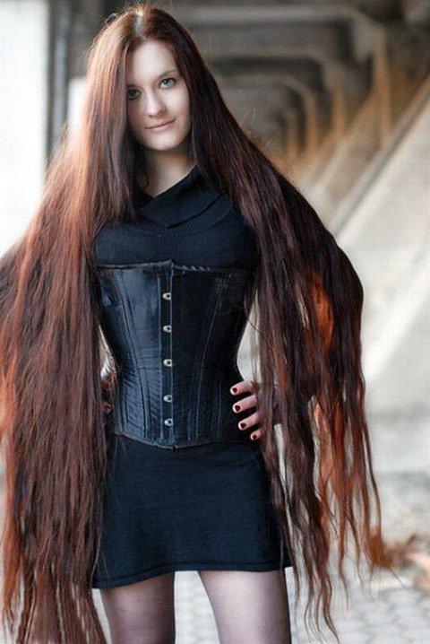 Девочка с длинными волосами секс фото 143-715