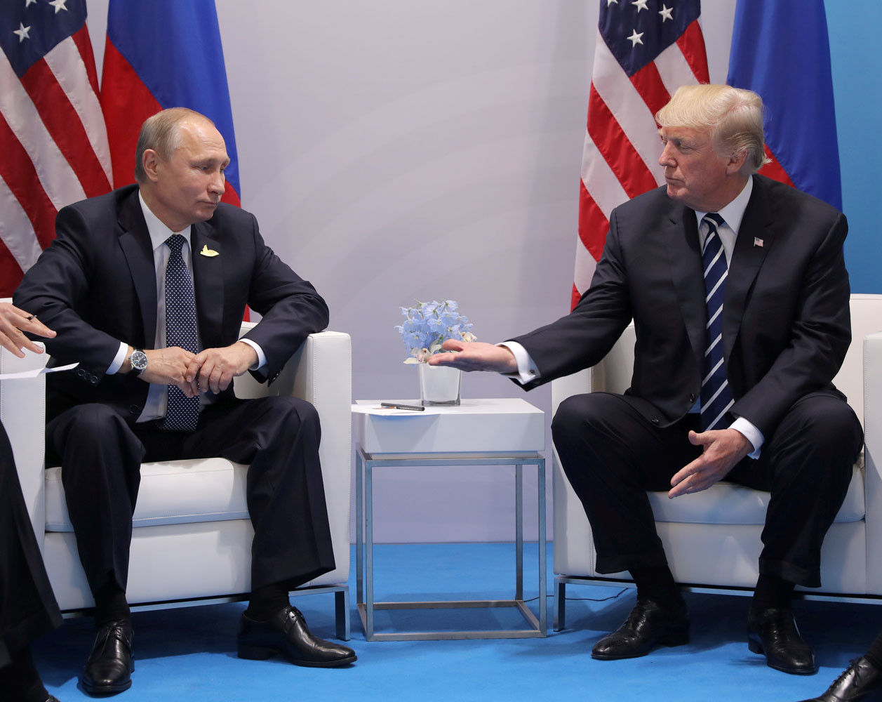Два часа на высшем уровне: как прошла первая встреча Путина и Трампа