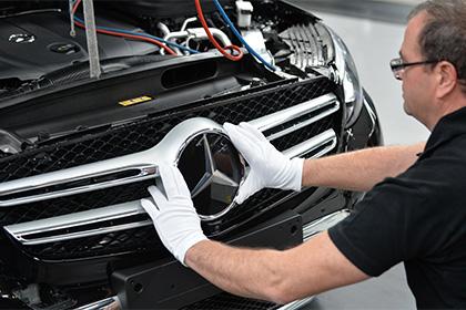 В Подмосковье будет завод Mercedes