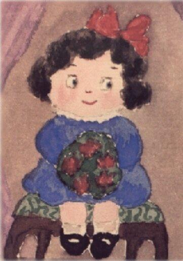 Рисунок, сделанный царевной Анастасией