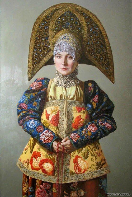 Русский художник Александр Левченков.