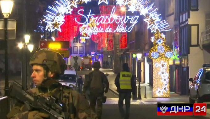 Бойня во Франции: на рождественской ярмарке погибли 4 человека, преступник в розыске