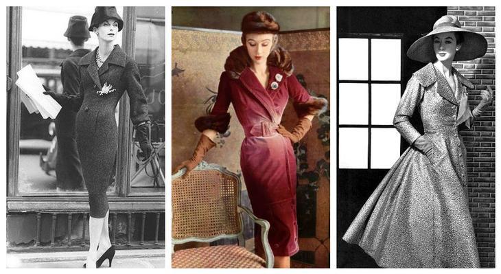 Современное ретро: что такое платье-пальто и как его носить