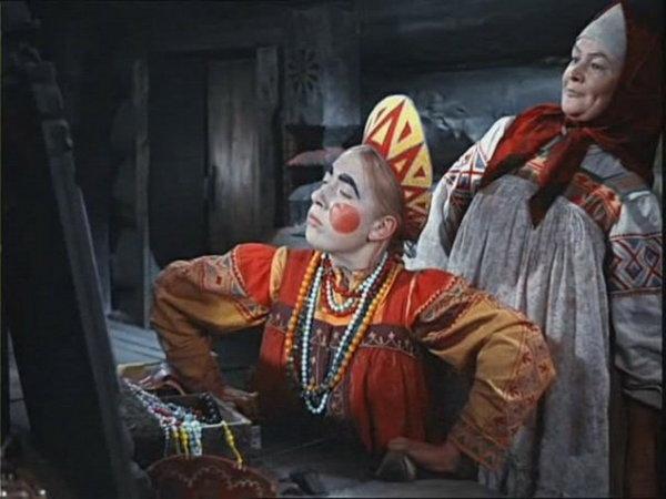 Кадр из фильма «Морозко», 1964 год