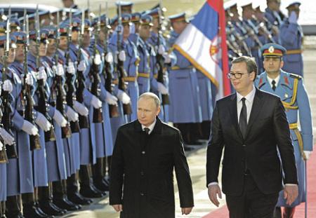Путин подготовил сербскую почву для «Турецкого потока»
