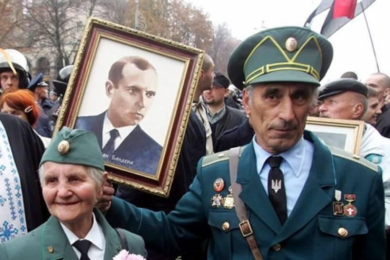 На Украине хотят присвоить звание героя фашисту Бандере