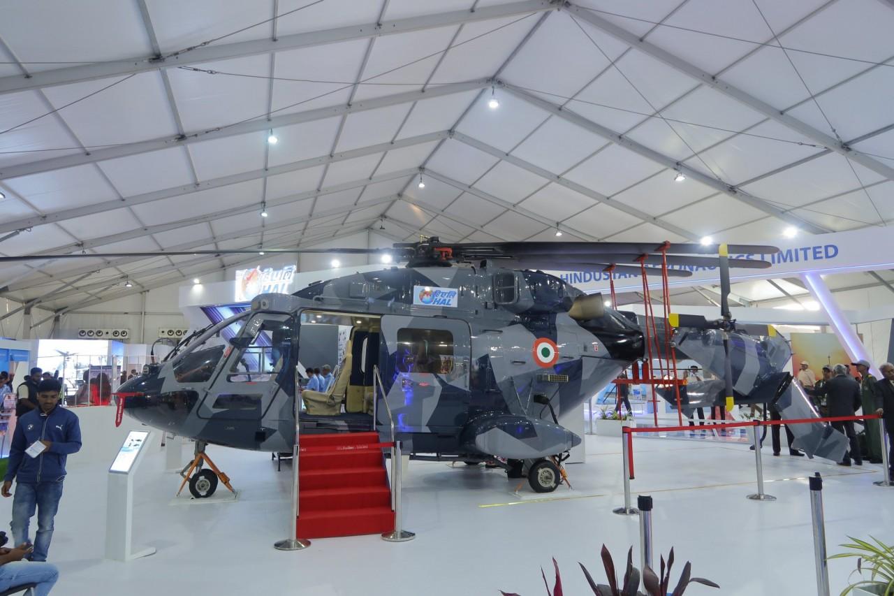 Корабельный вариант индийского вертолета Dhruv