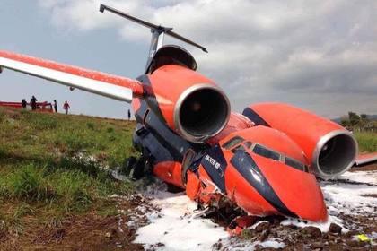 Украинский самолет рухнул в Африке