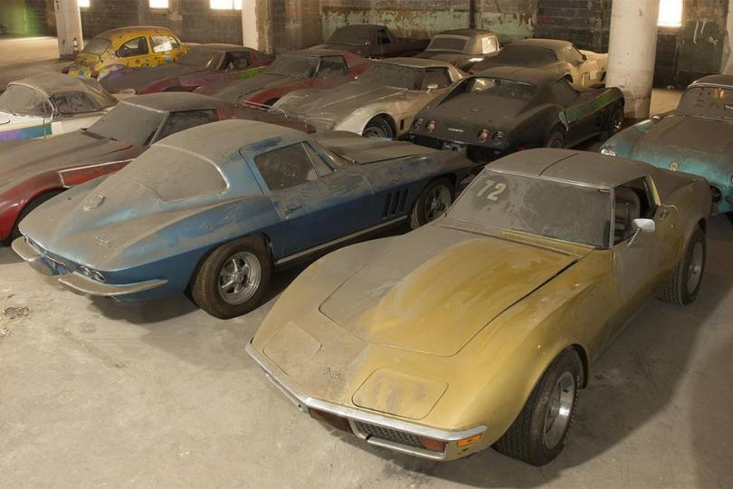 Как спрятанные и забытые коллекции автомобилей находили новых владельцев