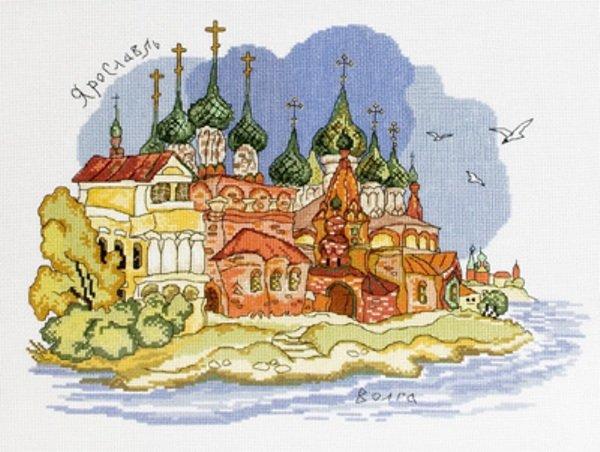 Panna Города России Кострома Схему Вышивки Крестом