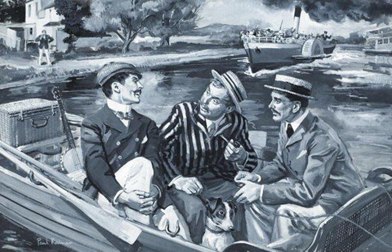 23 ироничные цитаты из повести «Трое в лодке, не считая собаки»