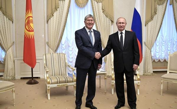 Атамбаев надеется насохранение братских отношений России иКиргизии