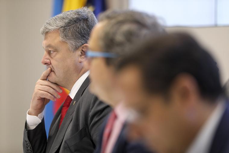 Пользователи соцсетей высмеяли Порошенко, назвавшего Украину «агрессором»