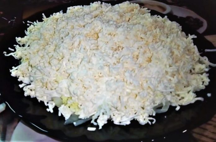 Французский салат. Делаю за 15 мин