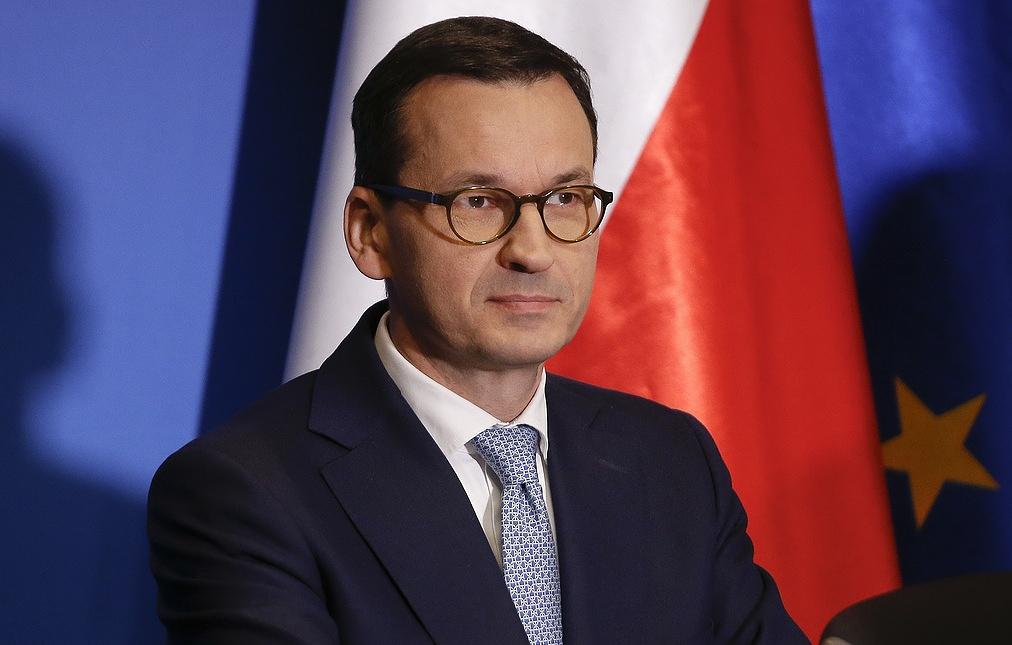 """Премьер Польши заявил, что """"Северный поток - 2"""" позволит России """"войти маршем"""" в Киев"""