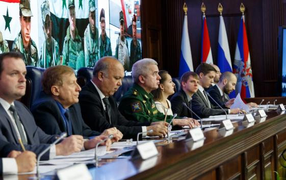 Министерство Обороны России потребовали США покинуть территорию Сирии