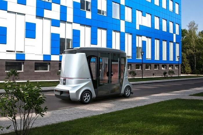 Концептуальный отечественный беспилотный автомобиль MATRESHKA