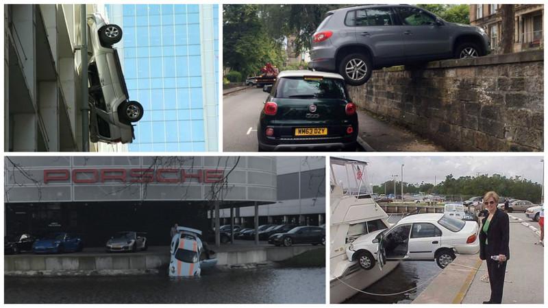 Классно припарковался: обескураживающие трюки горе-водителей