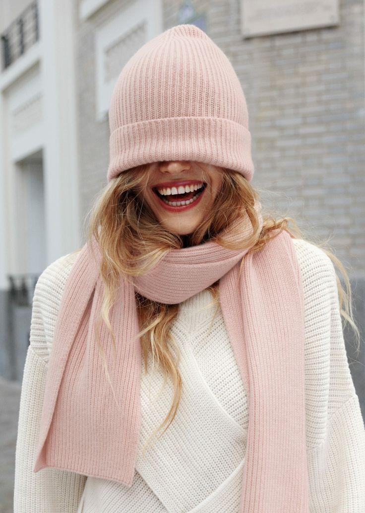 Подбираем цвет шапки и шарфа