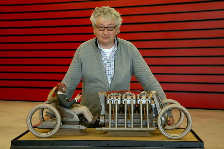 Автомобильные скульптуры Гийома Моро
