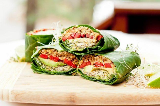 Овощные сэндвичи без муки за 5 минут! Original