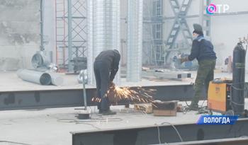 В Вологде устанавливают оборудование нового цеха по производству молоковозов