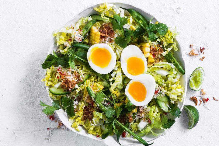 Салат с яйцом и стручковой фасолью: рецепты приготовления
