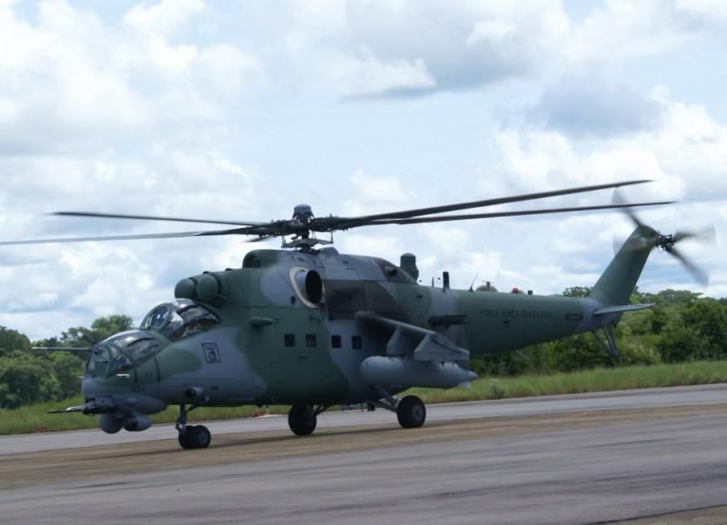 О российской вертолетной технике в Латинской Америке