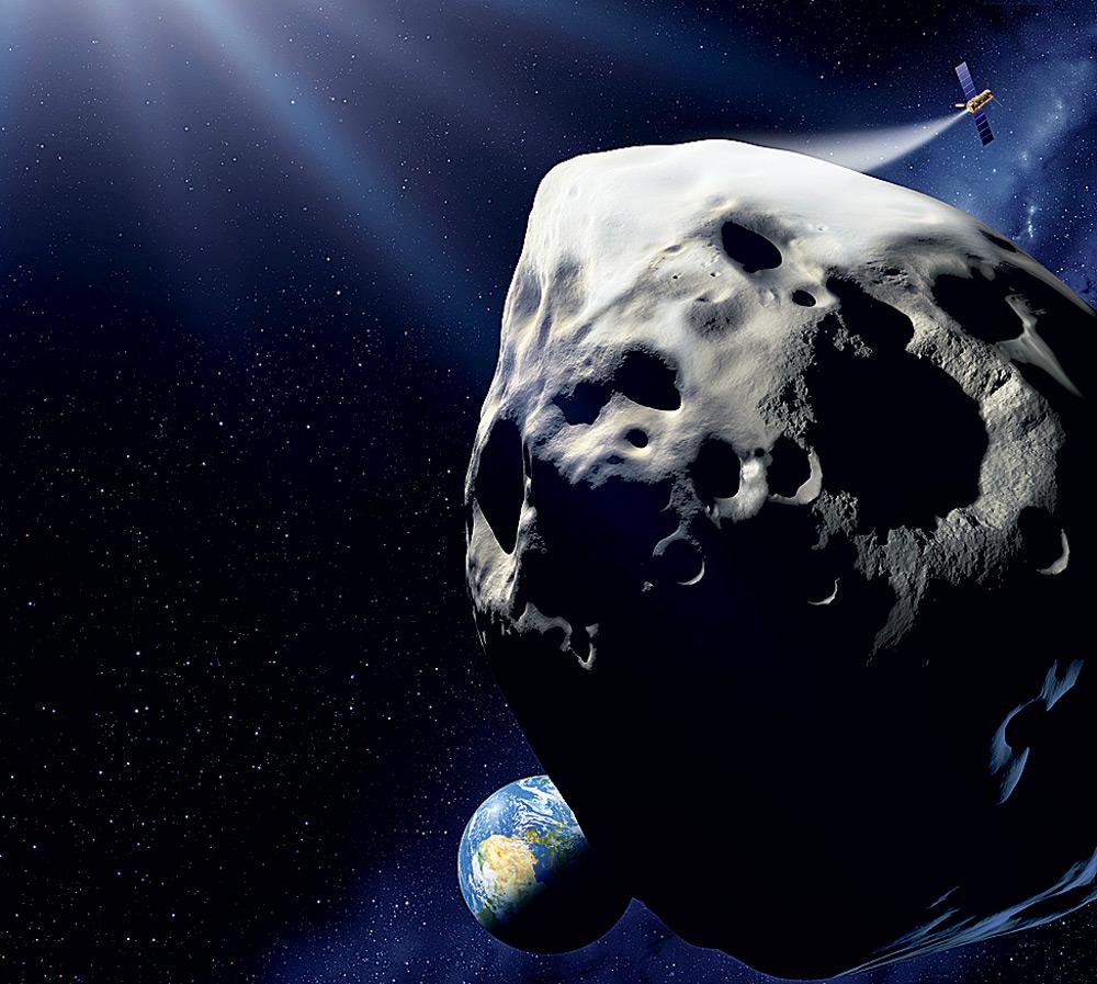Однажды все выпуски новостей на планете начнутся с одного и того же сообщения: к Земле приближается объект диаметром 10 километров