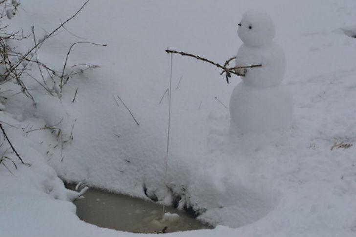 25 самых оригинальных снеговиков