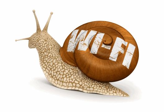 Почему интернет медленно работает?