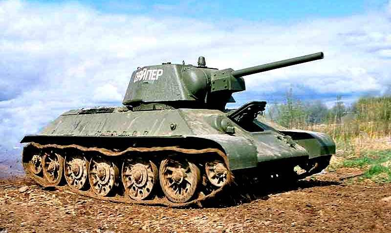 Почему танк Т-34 стал легендой?