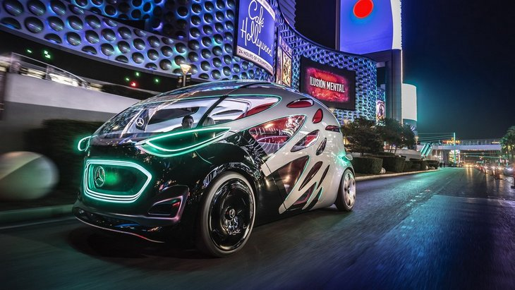 Самые яркие автомобили CES-2019