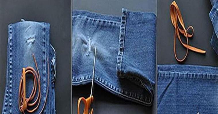 Не выбрасывайте старые джинсы! Вторая жизнь старых джинсов с пользой для дома