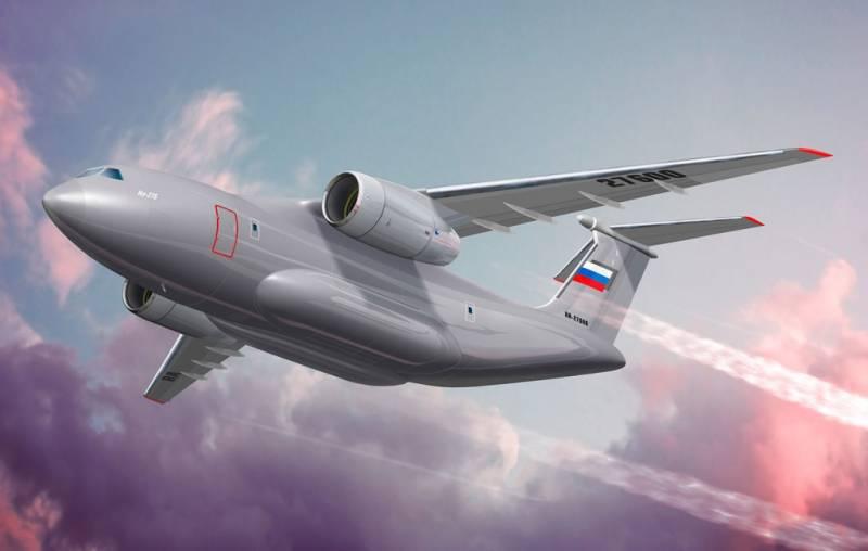 МО РФ утвердило задание на средний транспортный самолёт