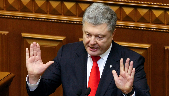 Порошенко опять обвинил Россию в крахе украинской экономики