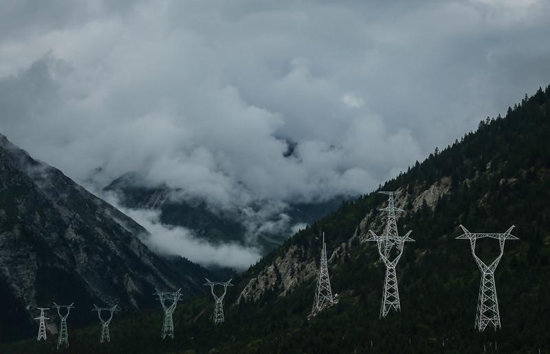 Как электрифицируют Тибет Электрификация, география, китай, тибет, электричество
