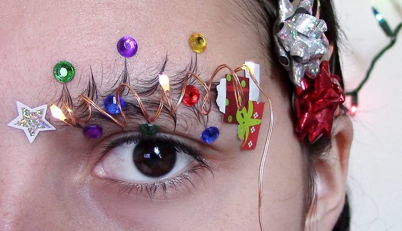 Новый праздничный тренд красоты