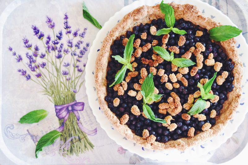 4 полезных десерта с черникой