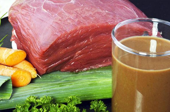 Житель Германии придумал продавать напитки из мяса
