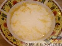 Фото приготовления рецепта: Хоткейки - американские оладьи на молоке - шаг №3