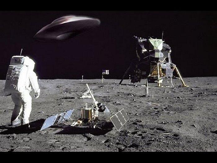Лунная перевалочная база инопланетян или землян?